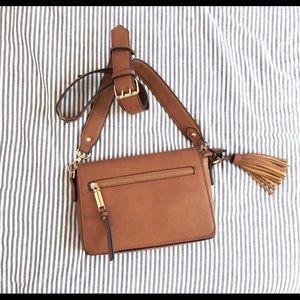 free people brown crossbody purse